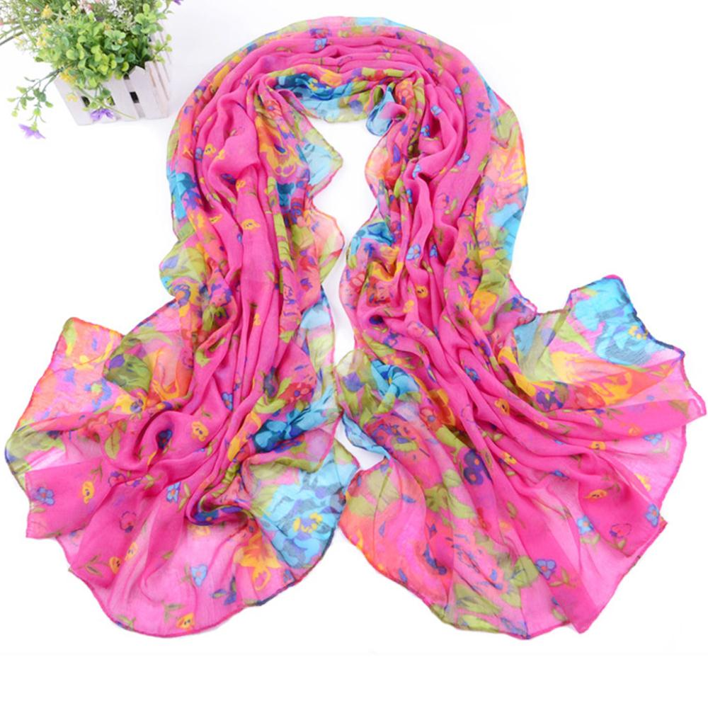 Soft Cotton/ voile NEW Flower DESIGN Bandana Countryside Style Womens GIRL NECK SCARF WRIST WRAP Fashion Color(China (Mainland))