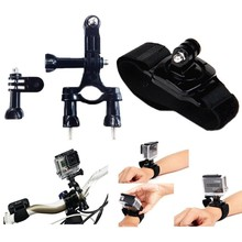 Hot Go pro Accessories Monopod Tripod Float Bobber Chest head strap For Gopro Hero 4 3