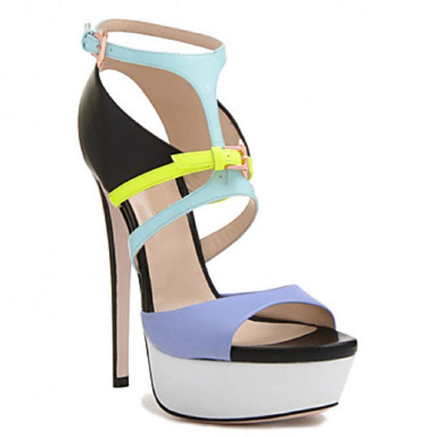 aliexpress buy bc pleather peep toe high heels