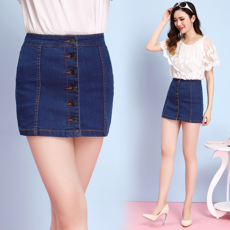 New 2014 Summer Short Denim Skirt New Women Autumn Fashion Jean Skirts Hot
