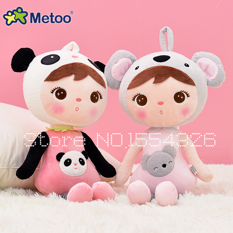 50cm New Metoo Cartoon Stuffed Animals Angela Plush Toys Sleeping Dolls for Children Toy Birthday Gifts Kids Free shipping