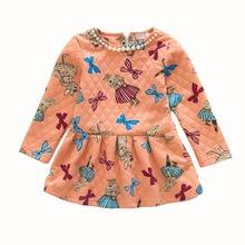 Girl Dress Cotton Girls
