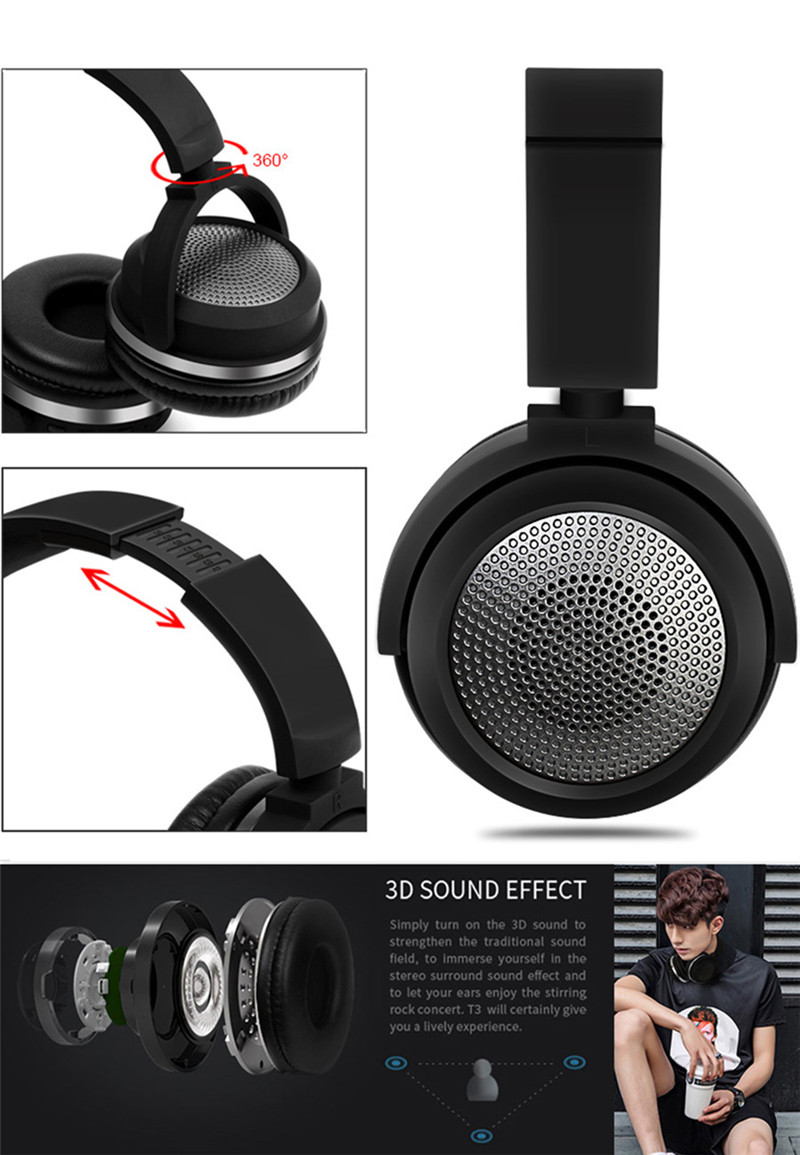 Bluetooth Headphones Bluetooth 4.0 4.2 03