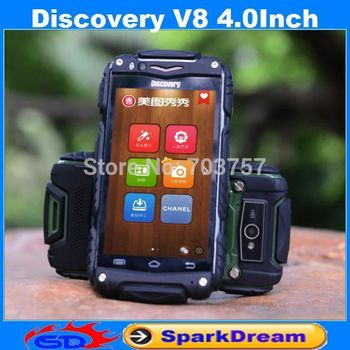 Discovery V8 Phone With MTK6572 Android 4.2 3G WiFi 4.0 Inch Capacitive Screen Dustproof Shockproof Smart Phone