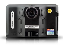 New 7 inch HD Android GPS Navigation Anti Radar Detector Car DVR Camera Recorder Truck vehicle gps Free map tablet pc 8GB