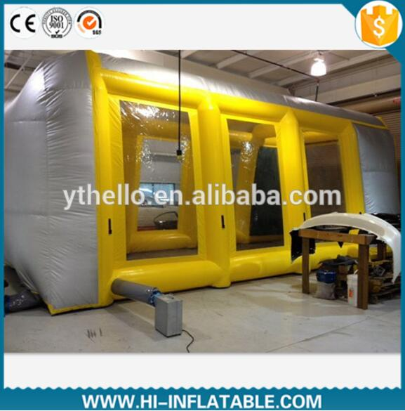 Mobile Automatic Inflatable Spray Booth, Used Paint Portable Spray Booth for Sale(China (Mainland))