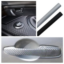 30x127cm 3D Carbon Fiber Vinyl Car Wrap Sheet Roll Film Sticker Decal Sale car styling accessories free shipping~(China (Mainland))