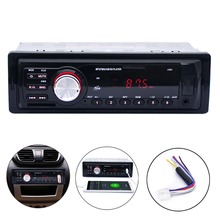 Car Stereo Audio Player FM Aux Input Receiver In-Dash SD USB In Dash Music MP3 Radio Player New Arrival CLSK(China (Mainland))