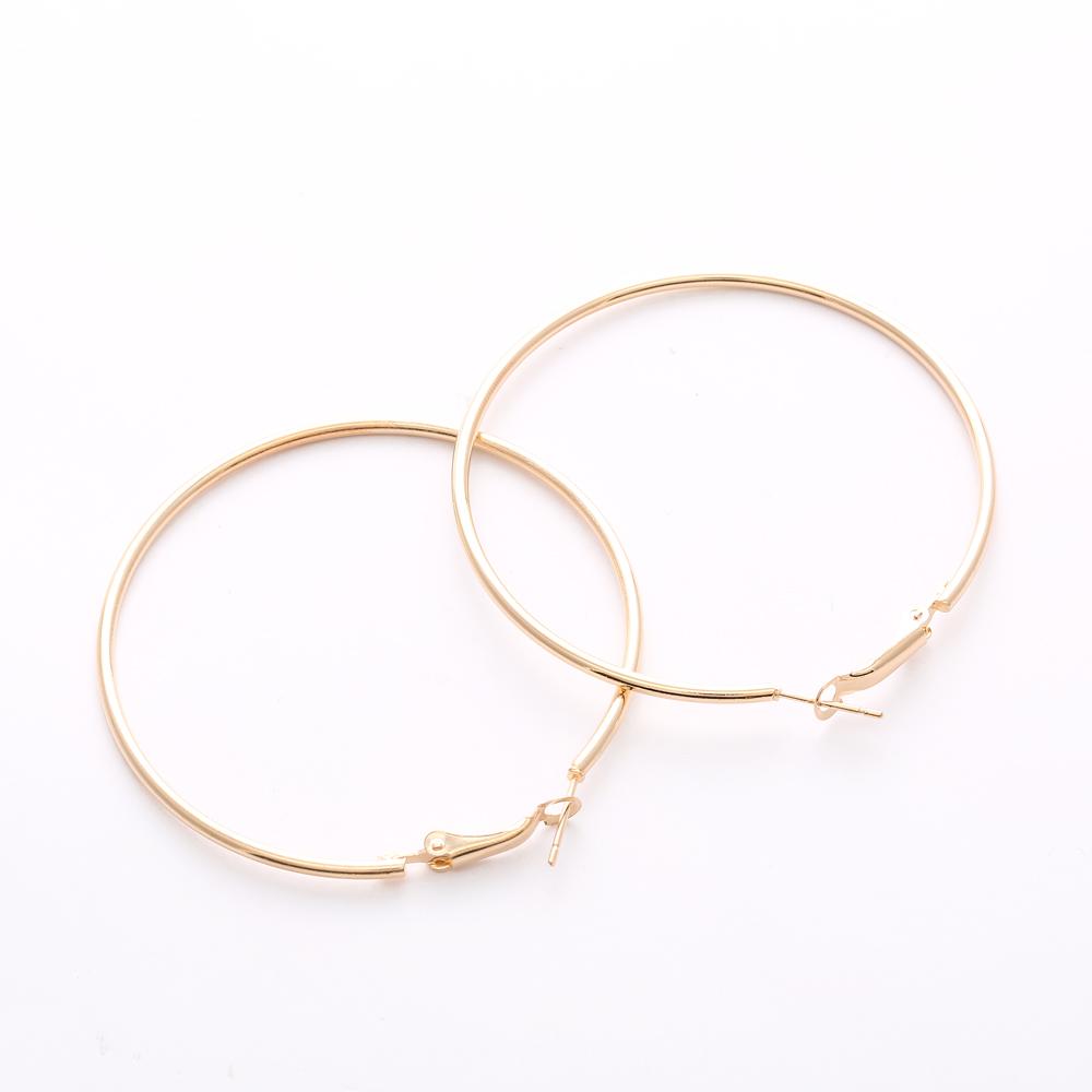 Hot Sale Hoop Earrings Big Smooth Circle Earrings Basketball Brincos Celebrity Brand Loop Earrings for Women Jewelry(China (Mainland))