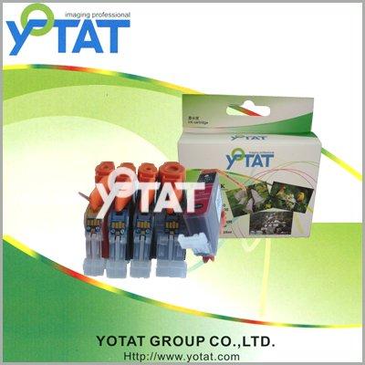 Картридж с чернилами YOTAT pgi/520bk, cli/521 BK/C/M/Y PGI-520,CLI-521 чернильный картридж canon pgi 29pm