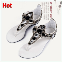 Free Shipping 2014 Discount Designer Summer Sandals For Women Flat Casual Slippers Shoes, Flip Flops For Women's Shoes LX16(China (Mainland))