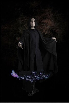 Harry Potter Severus Snape Full Set Cosplay Costume