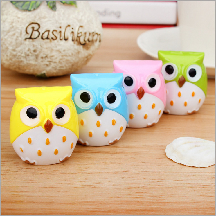 Kawaii Owl Pencil Sharpener Cutter Knife Promotional Gift Stationery(China (Mainland))