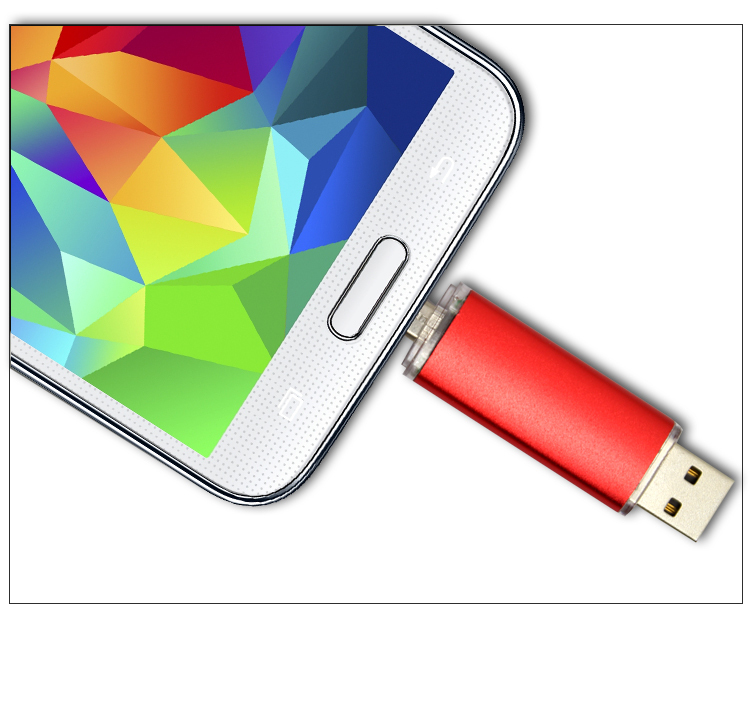 16GB 2 in 1 Micro 5pin+USB Memory Pen Drive for Android ...