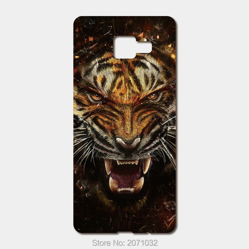 For Samsung Galaxy 2016 A5 A7 A3 J5 J1 mini For Xiaomi mi Max 5 4 4S 4C Note Redmi 3 hard PC Raging tiger phone cases(China (Mainland))