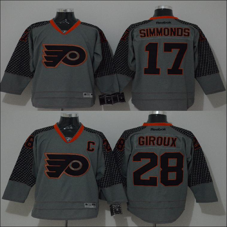 NEW Men's hoodie jersey Philadelphia Flyers #17 Wayne Simmonds #28 Claude Giroux sweater hockey jerseys cheap