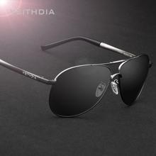 Veithdia hombres gafas de sol polarizadas lente espejo conductor gafas de sol de conducción pesca deportes exterior Eyewear venta al por mayor 3320