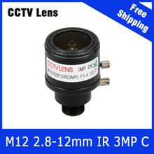 Buy 3Megapixel CCTV Camera Varifocal Lens 2.8mm-12mm M12 Mount 720P/1080P/3MP IP Camera AHD/CVI/TVI CCTV Camera Free Industrial Co.,Limited) for $6.50 in AliExpress store