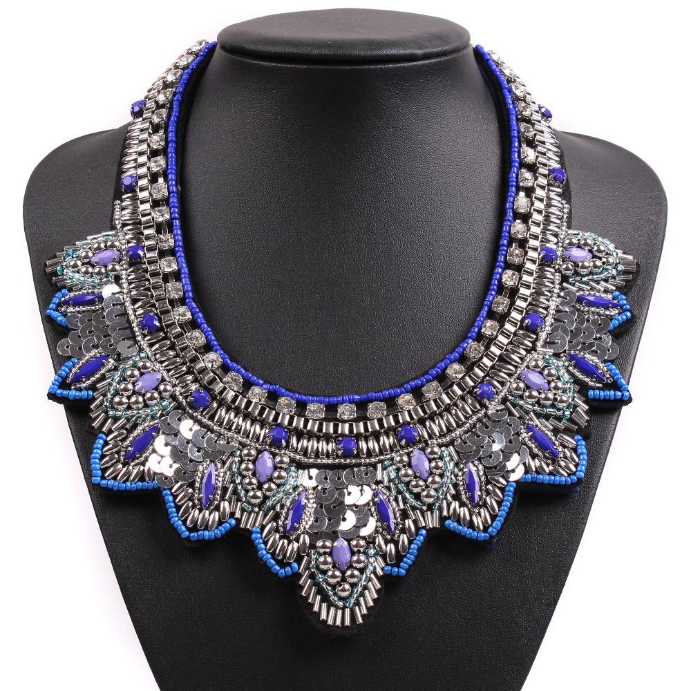 2016 New design women bib collar trendy fashion statement ...