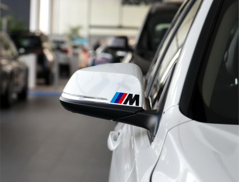 2pcs Germany Oracal M peroformance M emblem car wheel sticker for BMW E34 E36 E60 E90 E46 E39 X3 X5 accessories car styling(China (Mainland))