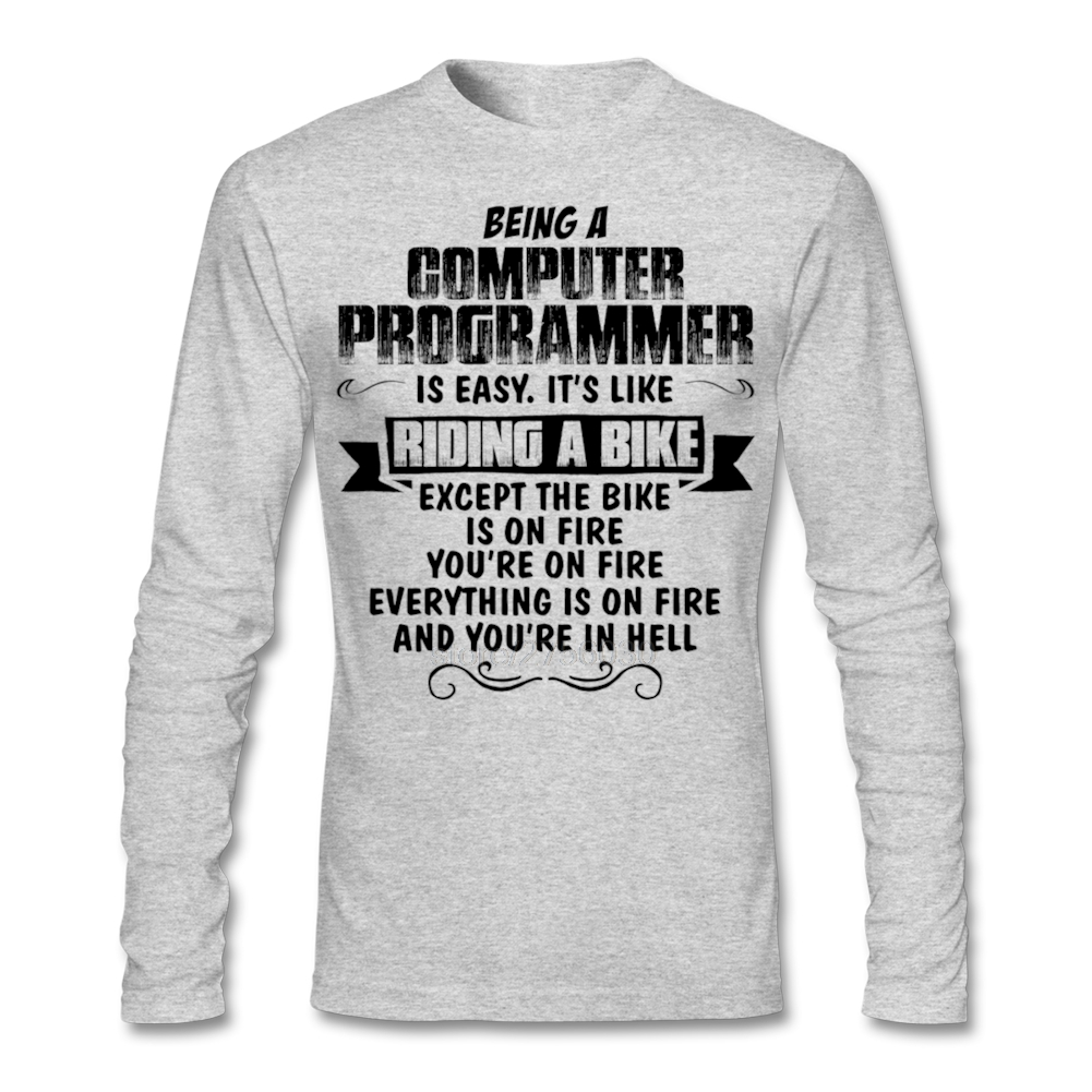 being a computer programmer I got a job right after graduating as a computer programmer imho, if you have all these attributes, you are on your way to being a great programmer.