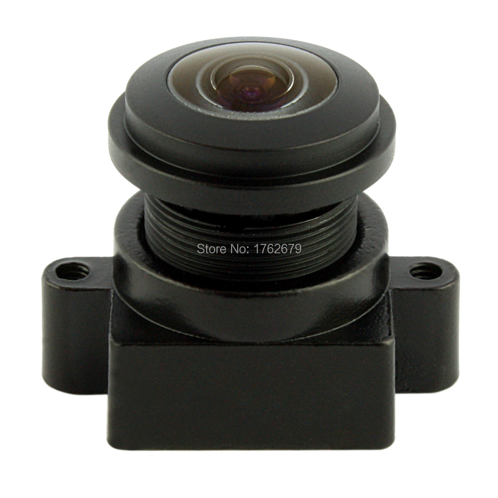 180 degree wide angle megapixel fisheye lens for ELP USB Camera or ip camera