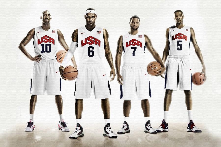 Lebron james Deron williams basketball Kevin durant Kobe bryant usa sports poster fabric cloth silk wall poster print(China (Mainland))