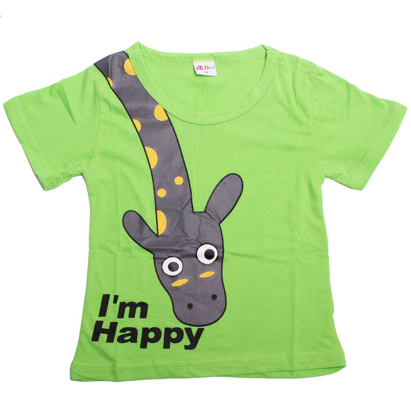 Cotton Summer T Shirts Short Sleeve Children T Shirts For Girls Boys Baby Clothing Children Clothes