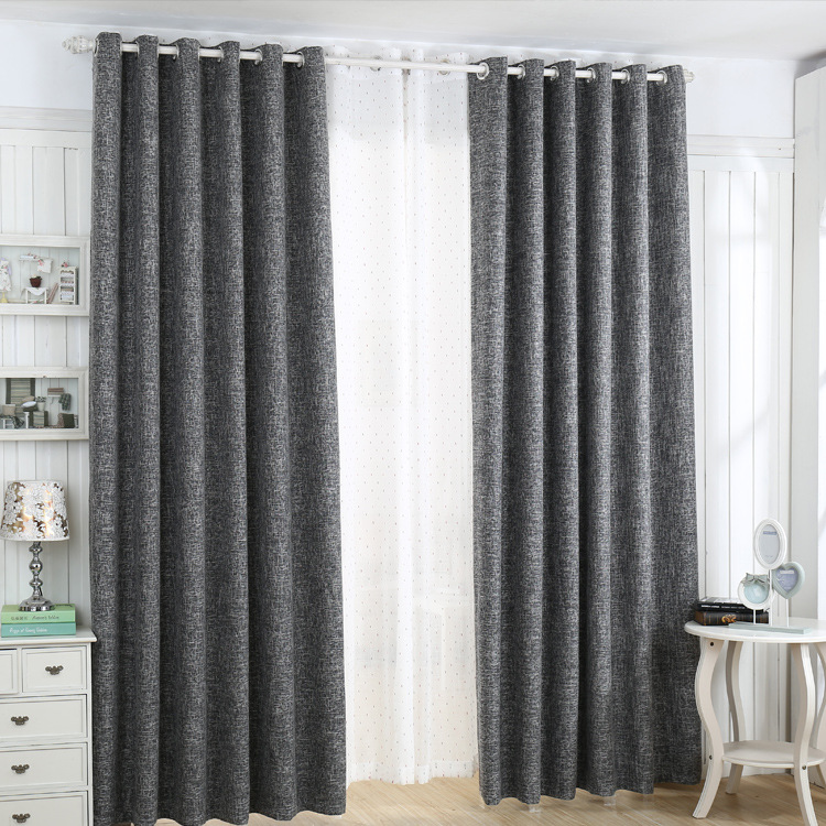 2016 Hotel Cutains Gray Blackout Curtains 100 Free Shipping Best Quality In Curtains From Home
