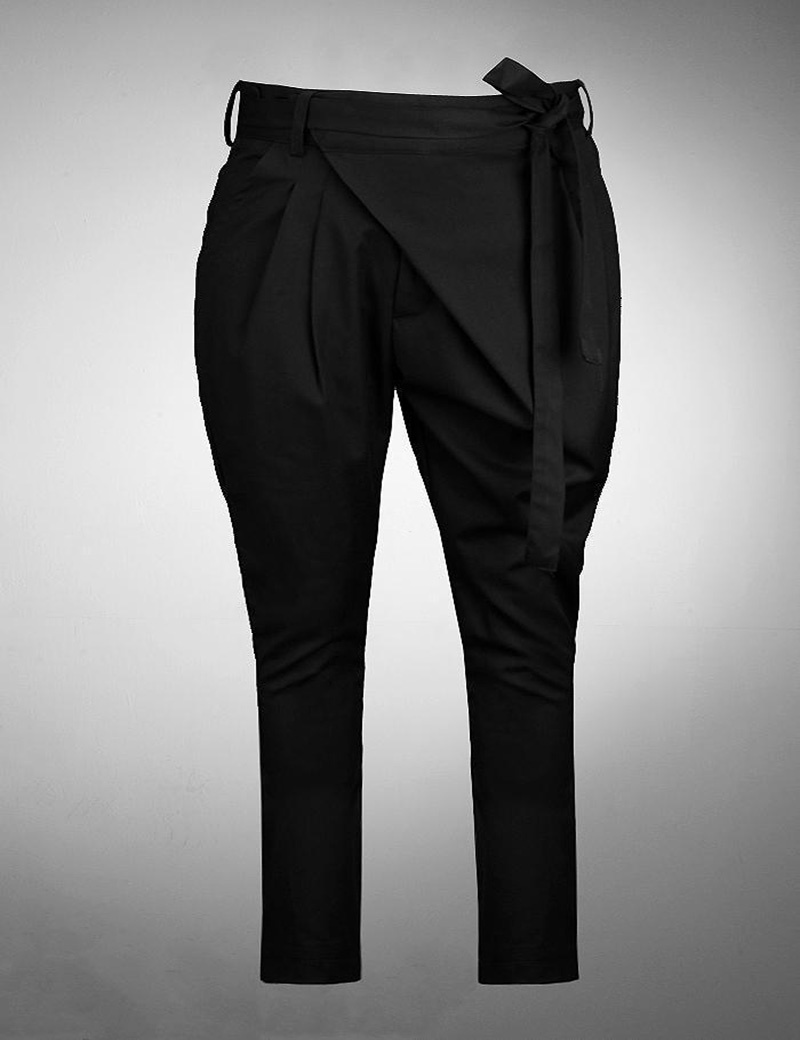 Mens Cool Irregular Personality Slim Fit Cozy Black Long Pants, Quality British Style Casual TrousersОдежда и ак�е��уары<br><br><br>Aliexpress