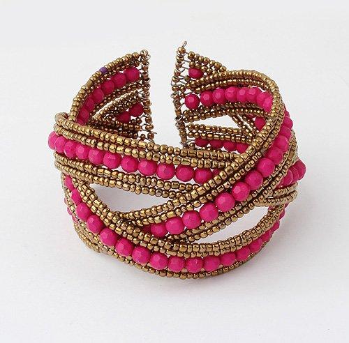 B235 Fashion Bohemia wind ball of String Bracelet #658(China (Mainland))