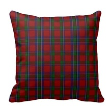 Good Case Stylish Clan Sinclair Tartan Plaid Pillow Case (Size: 20″ by 20″) Free Shipping