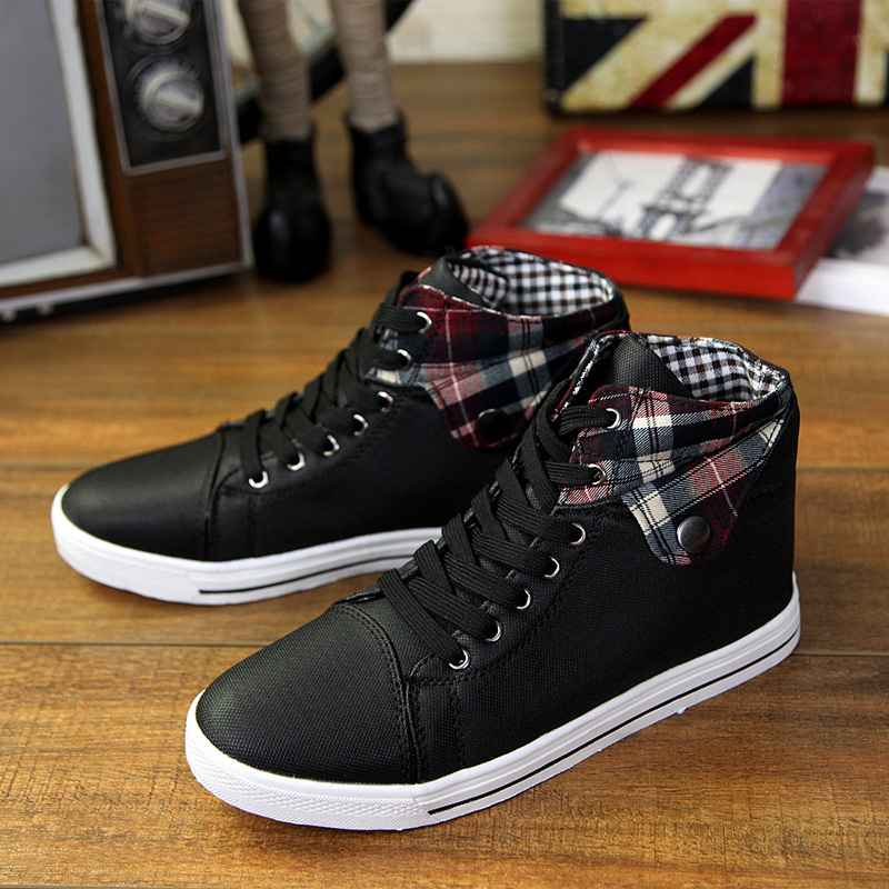 Spring autumn style men canvas ankle boots Fashion comfortable lace up sneakers Casual breathable men flats shoes 8272<br><br>Aliexpress