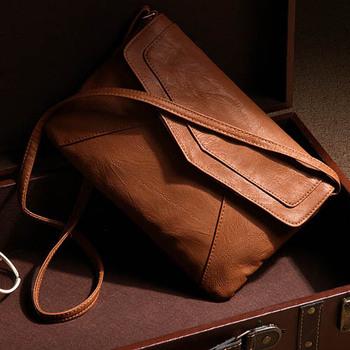 Женские кожаные конверт мешки плеча дамы малых винтаж лето сумки crossbody слинг сумка 2015 дизайнер ранцы