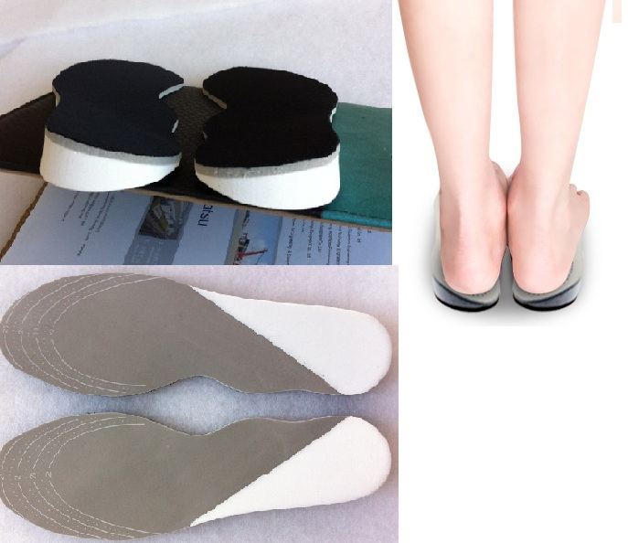 Lady Soft latex X O legs orthopedics insole treat therapy orthotics insert for women shoes pad free shipping correct insoles<br><br>Aliexpress