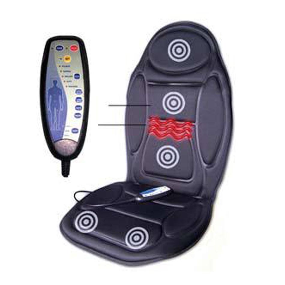 Massage Chair Seat Massager Heat Vibrate Cushion Back Neck Massage Chair Car Pain Massage Relaxation massageador(China (Mainland))