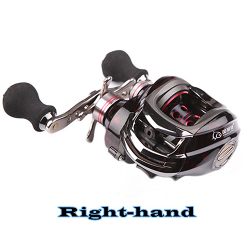Здесь можно купить  Droplets round 14 shaft magnetic dual brake wheel bait casting left and right hand sub-line anti-fried fishing reel  Спорт и развлечения