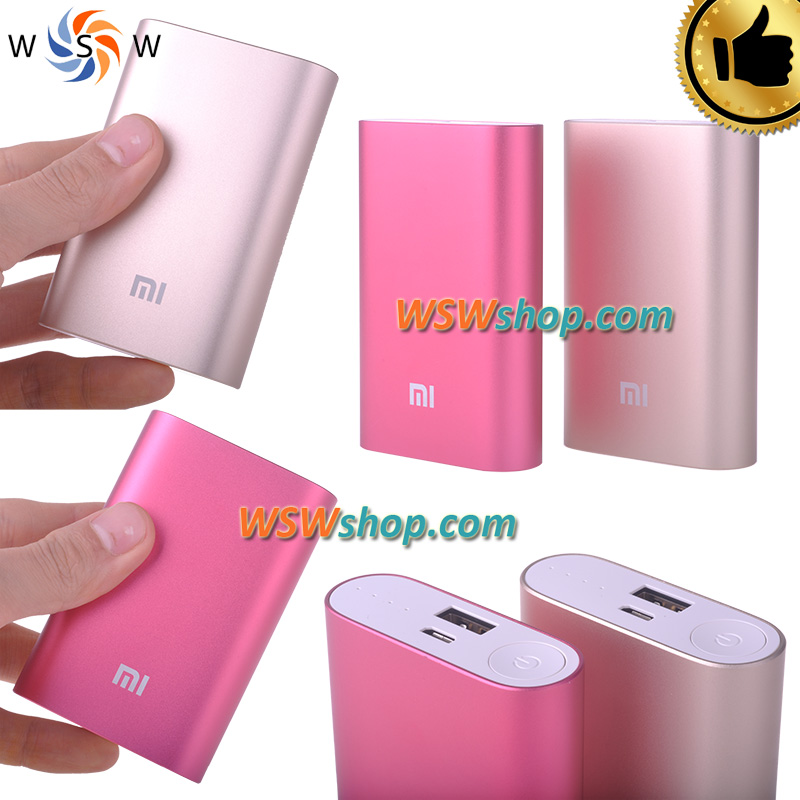 100% XiaoMi Powerbank Battery Mi 10000mah Power Bank Bateria Externa Portable Charger External Battery Cargador For Iphone 5/6