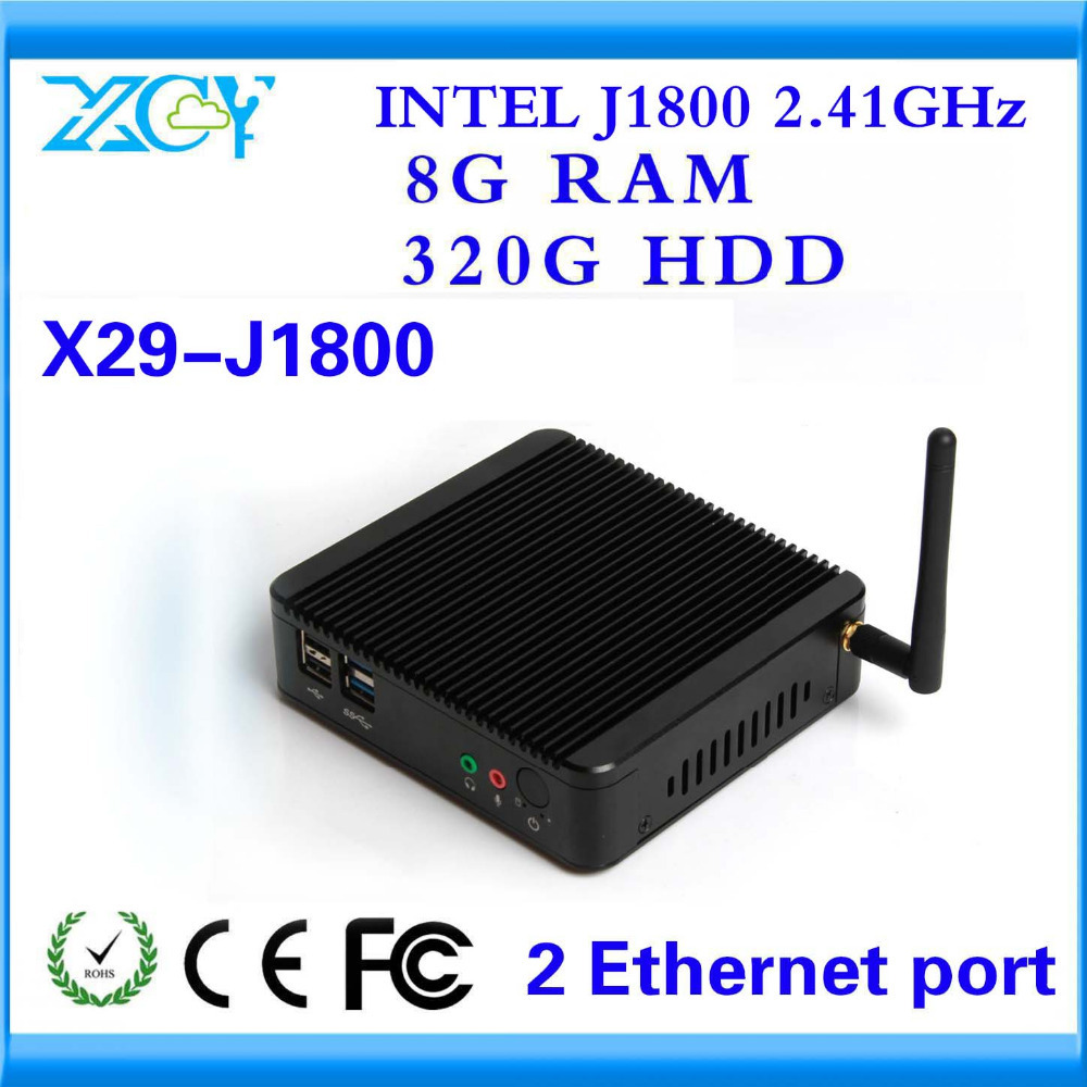 XCY Cheap Small Computer OEM/ODM Best Quality CPU J1800 and 8G RAM AND 320G HDD SUPPORT Linux OS Ubuntu MINI DESKTOP(China (Mainland))