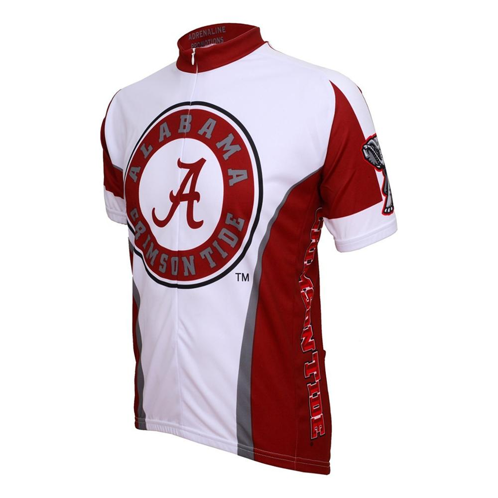 Alabama Crimson Tide NCAA Road Cycling Jersey (Small)(China (Mainland))