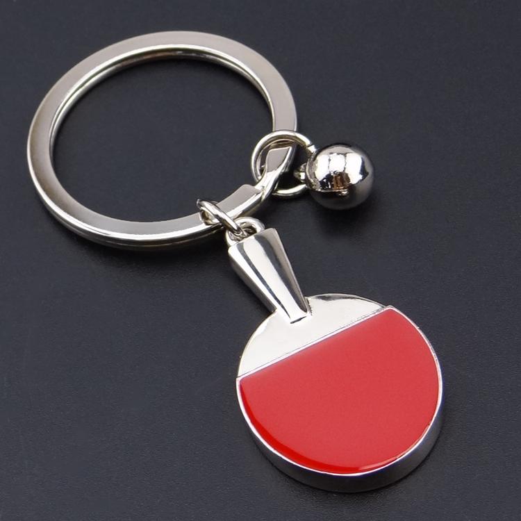 Wholesale Sport Ping Pong Table Tennis Ball Badminton Bowling Ball Keychain Key Chain Keyring Key Ring Souvenir Gift(China (Mainland))