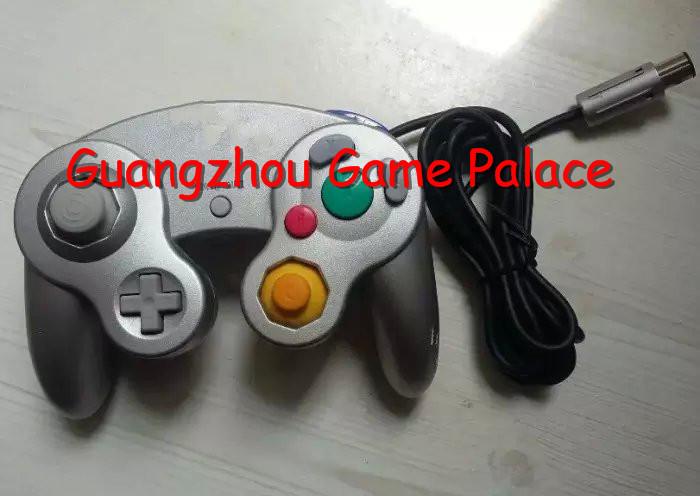 Original Game Controller for Nintendo Gamecube GC NGC Wii Silver(China (Mainland))