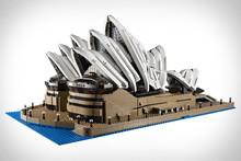2989Pcs LEPIN 17003 Creator Sydney Opera House Model Building Kits Minifigures Blocks Bricks Toys Compatible(China (Mainland))