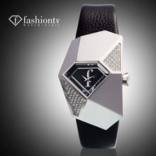 F . time paris2014 women's fashion watch waterproof genuine leather the trend of rhinestone star style