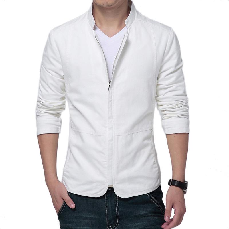 Mens White Jacket | Outdoor Jacket