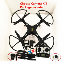 Big Quadcopter rc Drone camera holder included as gift H899 VS x8c/x8w/x8g drones Tarantula X6 can add FPV camera rc helicopter