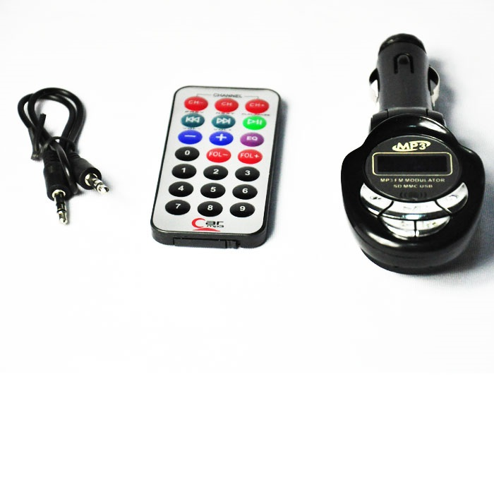 New black USB/SD/MMC Car MP3 Player,Car FM Transmitter with Remote Control(China (Mainland))