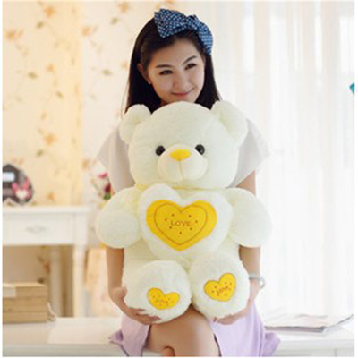 Free Shipping lovely 60CM teddy bear plush toys valentines day teddy bear toys for kids birthday gift(China (Mainland))