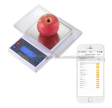 Nutrition kitchen online shopping the world largest for Bluetooth kitchen scale