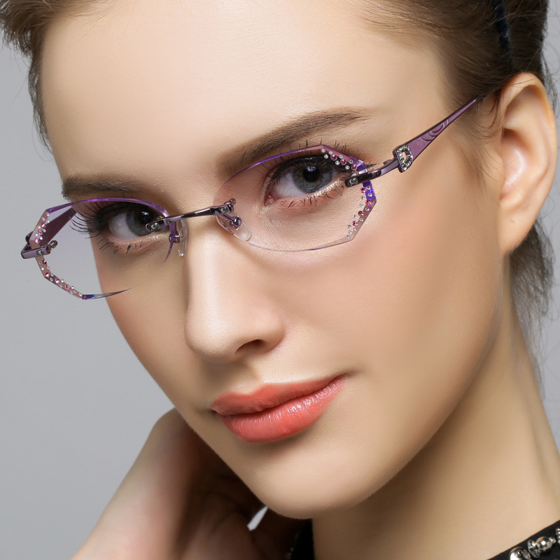 Rimless Glasses Young : Rimless Ladies Glasses Louisiana Bucket Brigade
